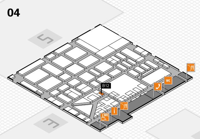 boot 2017 hall map (Hall 4): stand B12