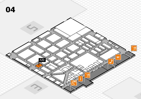 boot 2017 hall map (Hall 4): stand A39