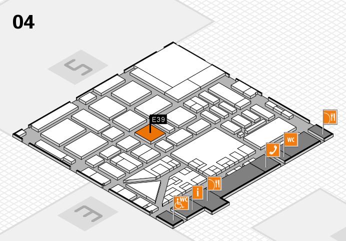 boot 2017 Hallenplan (Halle 4): Stand E39