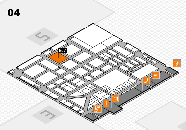 boot 2017 hall map (Hall 4): stand B57