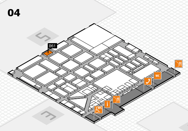 boot 2017 hall map (Hall 4): stand B61