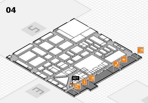 boot 2017 hall map (Hall 4): stand A01