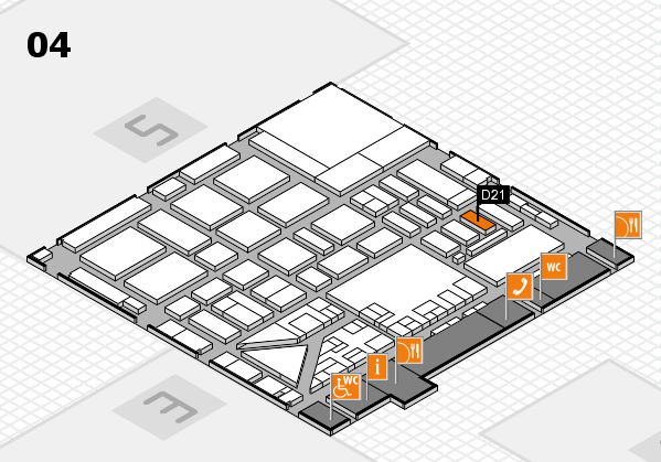 boot 2017 hall map (Hall 4): stand D21