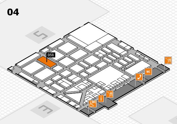 boot 2017 hall map (Hall 4): stand B58