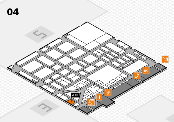 boot 2017 hall map (Hall 4): stand A10
