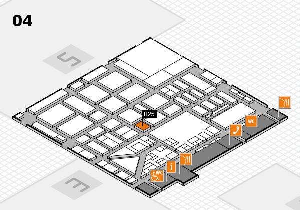 boot 2017 hall map (Hall 4): stand B25