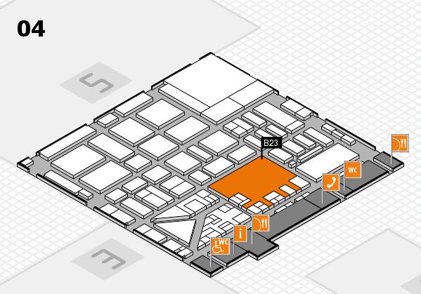 boot 2017 hall map (Hall 4): stand B23