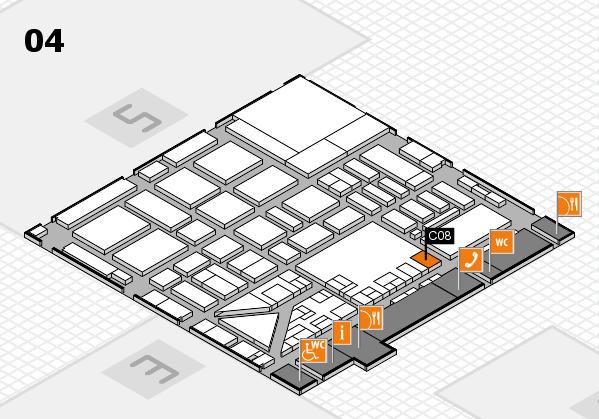 boot 2017 hall map (Hall 4): stand C08