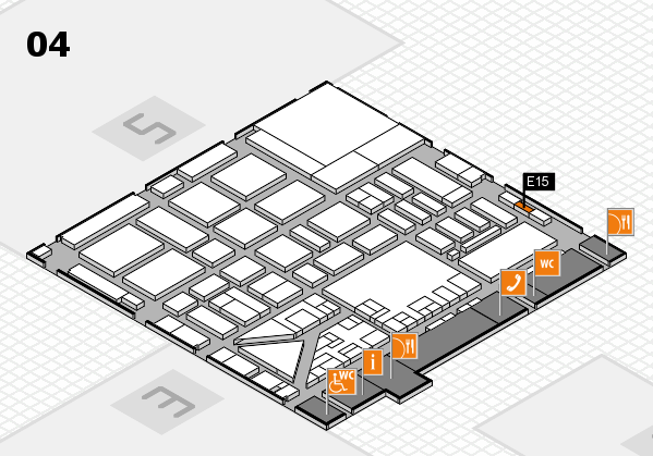 boot 2017 hall map (Hall 4): stand E15