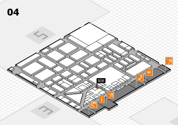 boot 2017 hall map (Hall 4): stand B08