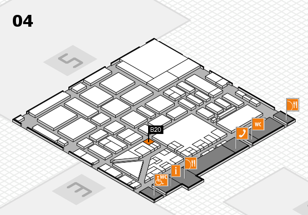 boot 2017 hall map (Hall 4): stand B20