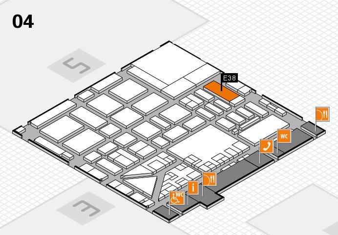 boot 2017 Hallenplan (Halle 4): Stand E38