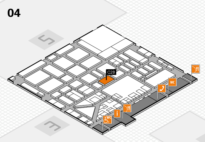 boot 2017 hall map (Hall 4): stand C28