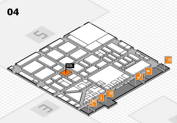 boot 2017 hall map (Hall 4): stand B38