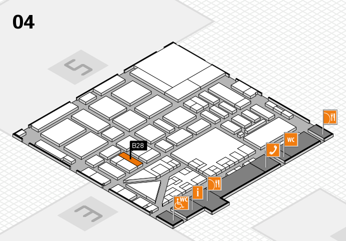 boot 2017 hall map (Hall 4): stand B28