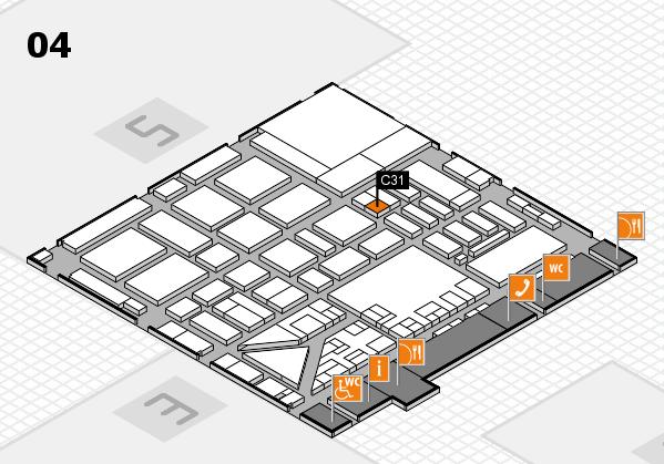 boot 2017 hall map (Hall 4): stand C31