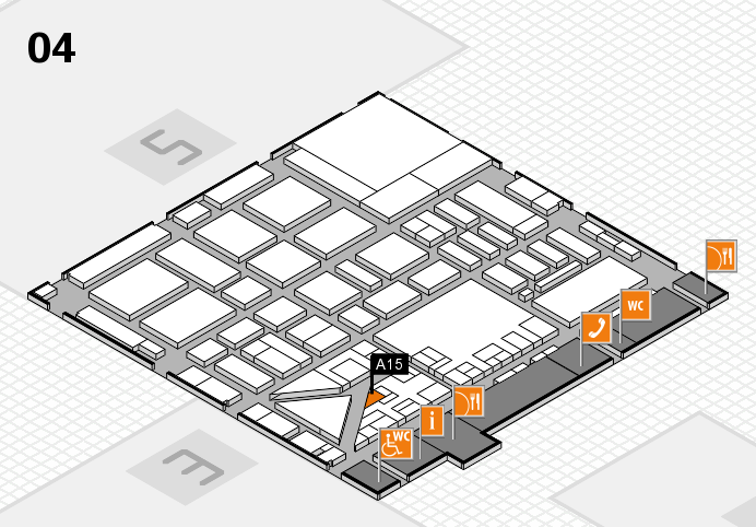 boot 2017 hall map (Hall 4): stand A15