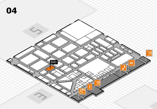 boot 2017 hall map (Hall 4): stand B40