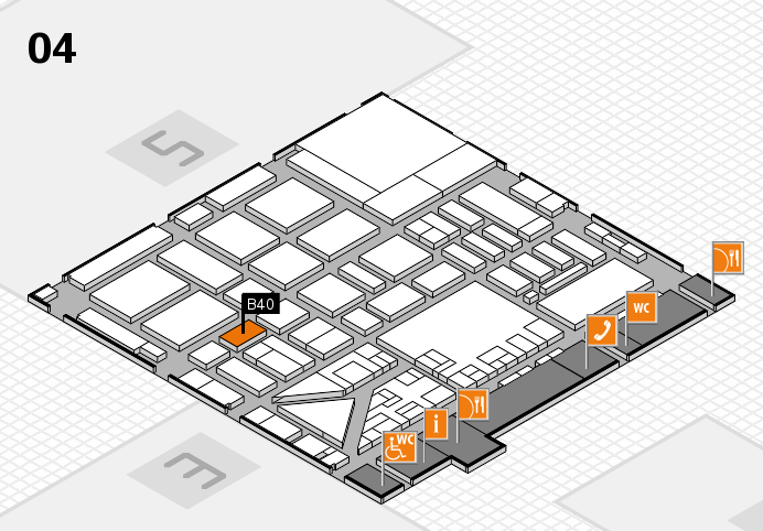 boot 2017 hall map (Hall 4): stand B40