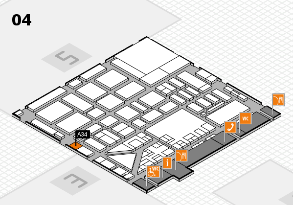boot 2017 hall map (Hall 4): stand A34