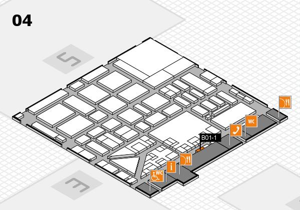 boot 2017 hall map (Hall 4): stand B01-1