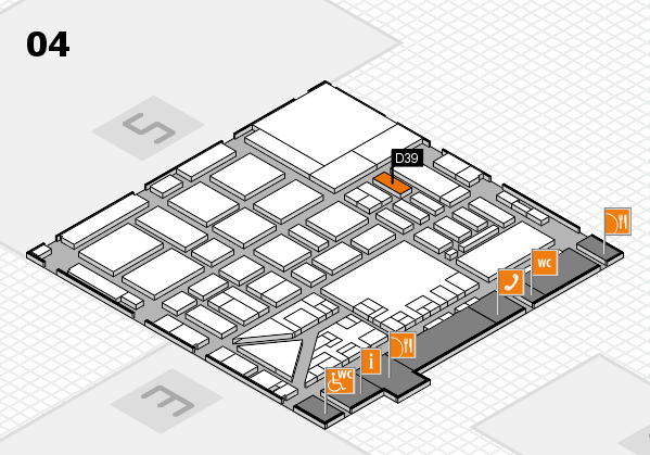 boot 2017 hall map (Hall 4): stand D39