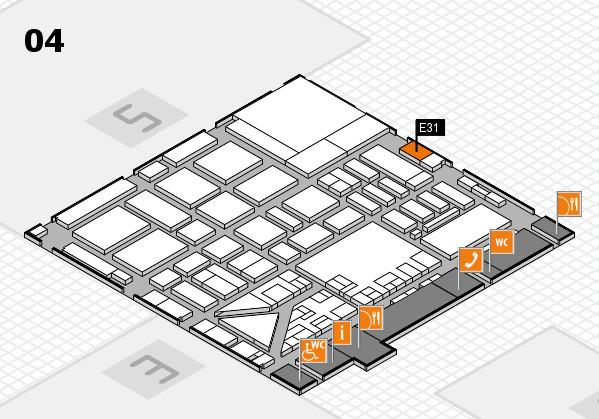 boot 2017 hall map (Hall 4): stand E31
