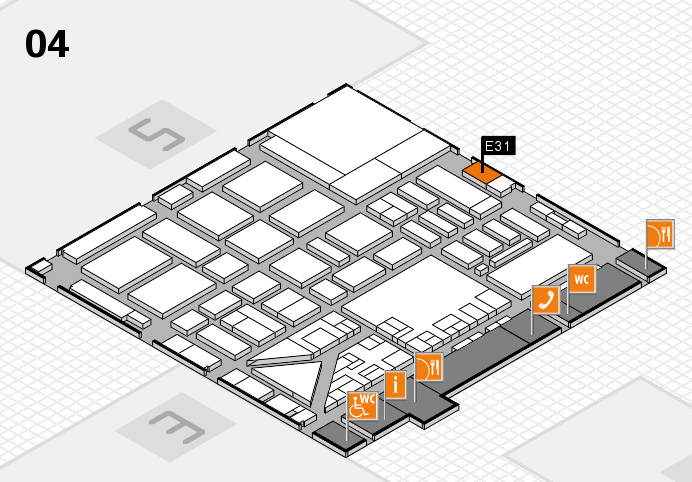 boot 2017 hall map (Hall 4): stand E31