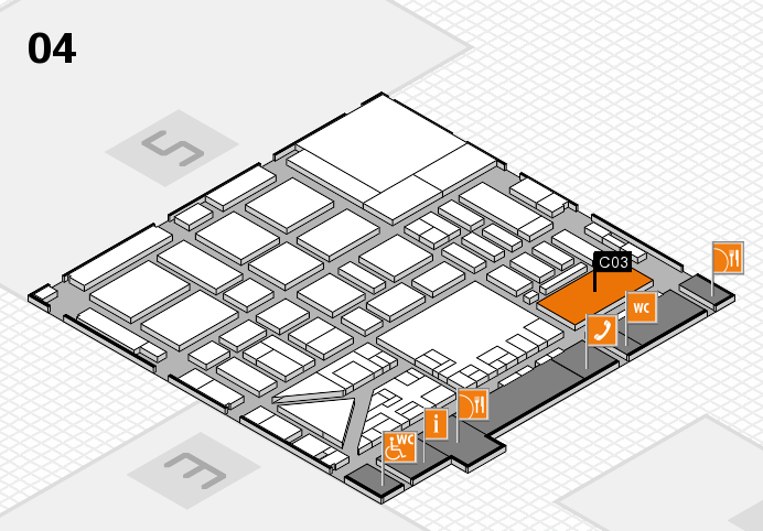 boot 2017 hall map (Hall 4): stand C03