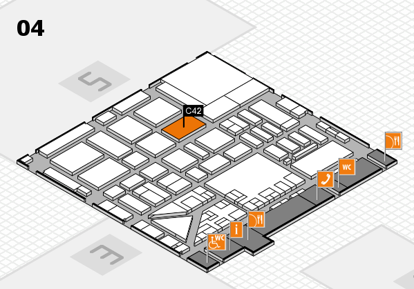 boot 2017 hall map (Hall 4): stand C42