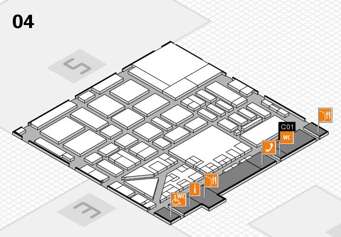 boot 2017 hall map (Hall 4): stand C01