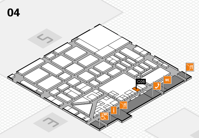 boot 2017 hall map (Hall 4): stand C06