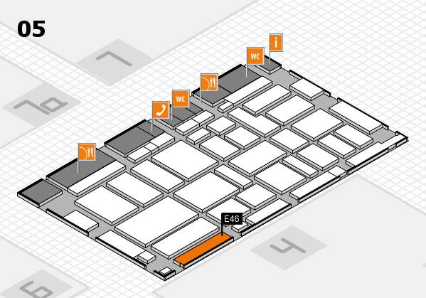 boot 2017 hall map (Hall 5): stand E46