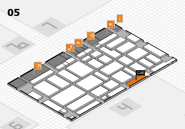 boot 2017 hall map (Hall 5): stand C46
