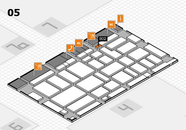 boot 2017 hall map (Hall 5): stand B02