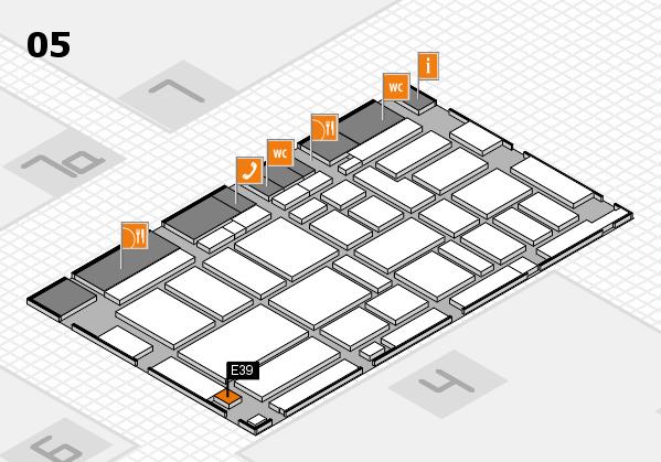 boot 2017 hall map (Hall 5): stand E39