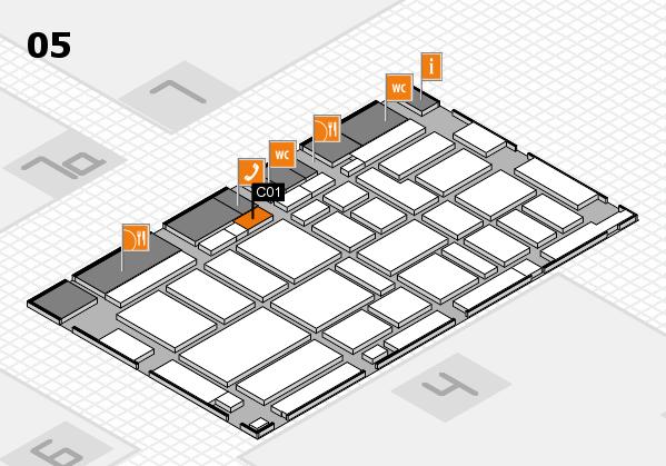 boot 2017 hall map (Hall 5): stand C01