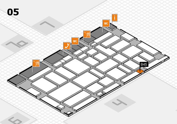 boot 2017 hall map (Hall 5): stand B45