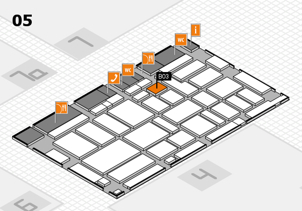 boot 2017 hall map (Hall 5): stand B03