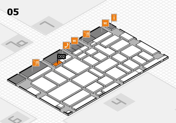 boot 2017 hall map (Hall 5): stand D02
