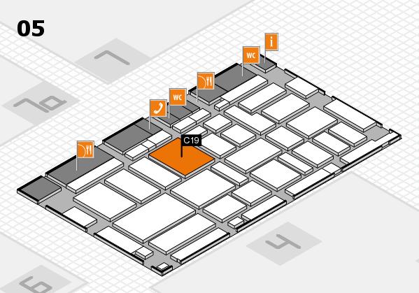 boot 2017 hall map (Hall 5): stand C19
