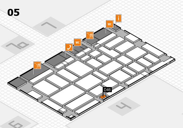 boot 2017 Hallenplan (Halle 5): Stand D46