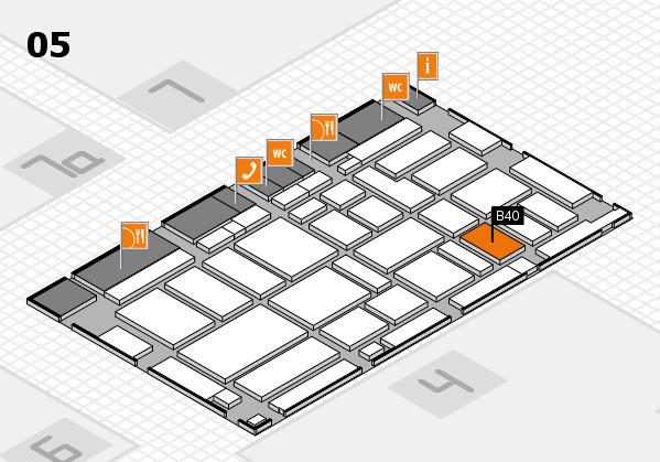 boot 2017 hall map (Hall 5): stand B40