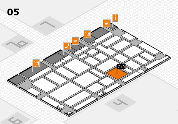boot 2017 hall map (Hall 5): stand C40