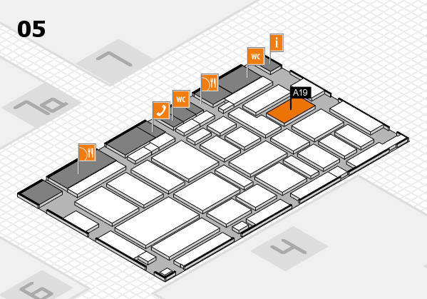 boot 2017 hall map (Hall 5): stand A19