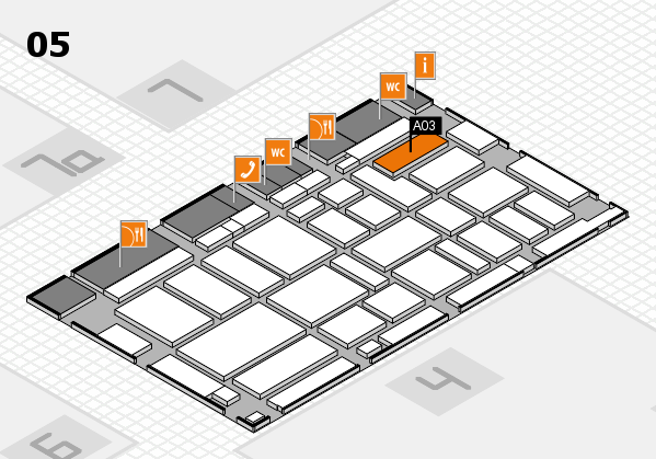 boot 2017 hall map (Hall 5): stand A03