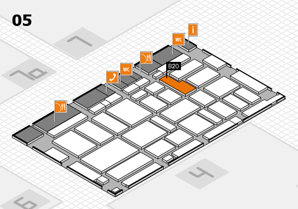 boot 2017 hall map (Hall 5): stand B20