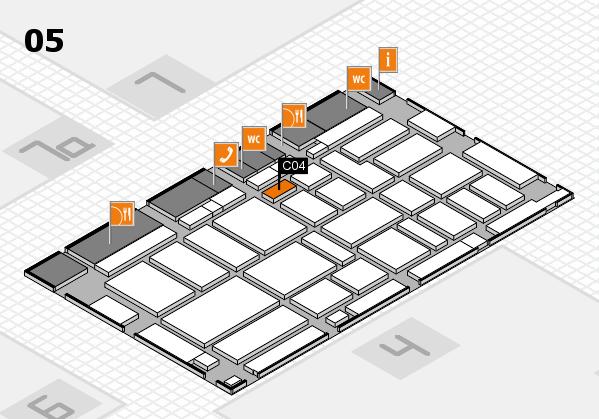 boot 2017 hall map (Hall 5): stand C04