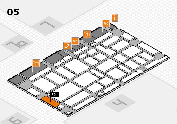 boot 2017 Hallenplan (Halle 5): Stand E21