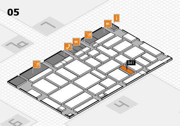 boot 2017 hall map (Hall 5): stand B41